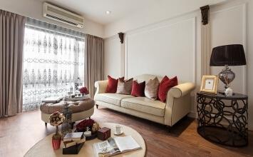 济南东城逸家新古典风格家庭装修设计