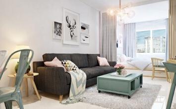 清新单身公寓