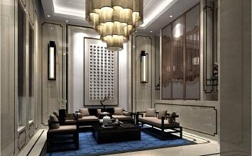 别墅装修设计——山水华门