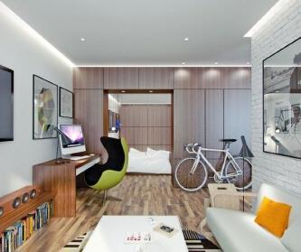 两室两厅现代宜家风格