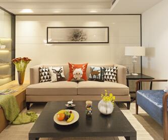 三室两厅清新现代风格