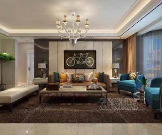 石家庄四室两厅现代风格设...