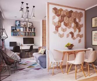 小户型公寓温暖设计,年轻...