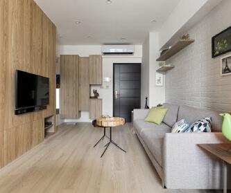 两室两厅现代简约风格