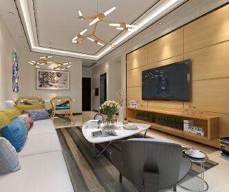 北欧风格--三室两厅