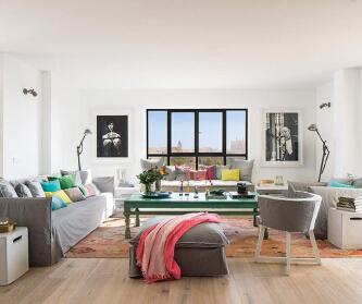 两室两厅改造地中海风格