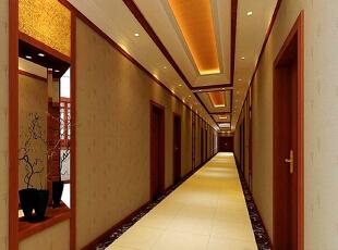 中式走廊集