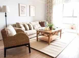 美式三居室温馨而又质朴