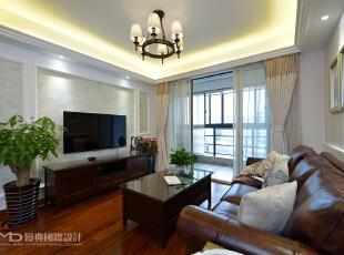 暖暖的家--美式新风缦典设计森域装饰