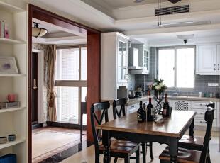 平美式三居室恬淡中的小清新