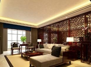 130㎡三房新中式风格装修,尽显典雅气质