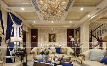 350平方联排别墅欧式新古典风格