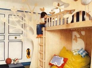 上下铺儿童房设计