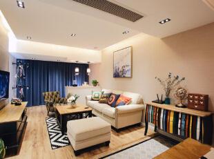 温馨简约风 89㎡两居室