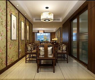 160平四室两厅新中式