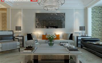 银川新卫家园146平米现代简约风格