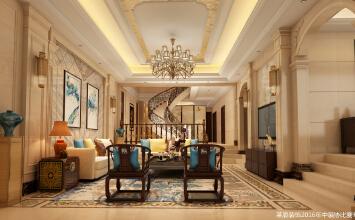 蓝柏湾8室4厅620平米欧式风格