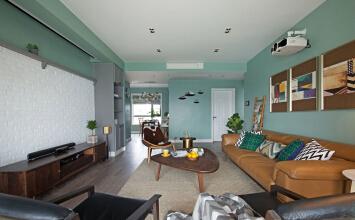 天都豪庭3室2厅115平米欧式风格