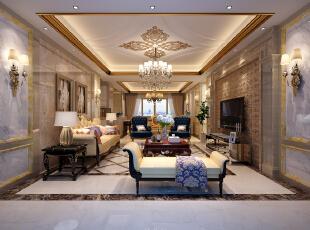 雅居乐富春山居197方4室2厅3卫1厨欧式风格