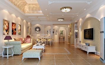 功能齐全,温馨舒适的才是家!实创定制现代欧式!