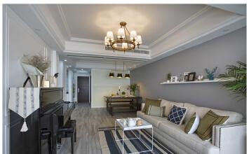 农房万盛金邸2室2厅147平米混搭风格