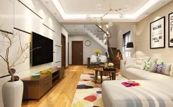 银川绿地城海珀兰轩165平米简约设计风格