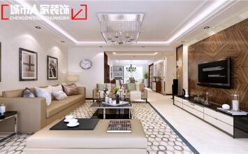 银川兴庆府大院六期160平米装修设计