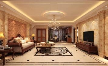 华丽的延伸,180平5室美式风格