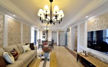 126平三口之家,又大又美的客餐厅是小两口的最爱