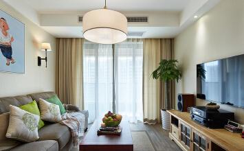 西安桐城装饰之白桦林明天138平现代简约风格