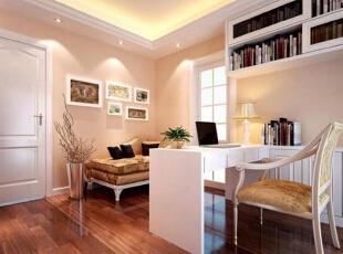 书房这样设计,是真的很漂亮!