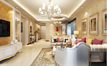 古典欧式风格,享受居家惬意生活!