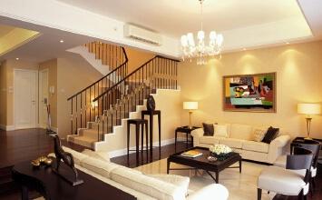 三层别墅现代风格简约...