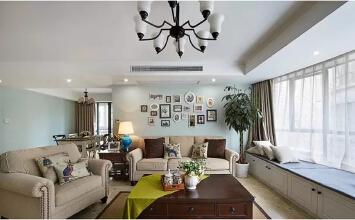 【重点推荐】保利大都会148平四室现代美式风格装修