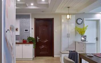 首创光和城俪湾125平现代混搭三室装修