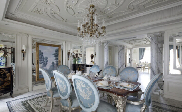 法式别墅装修设计的浪漫与品味
