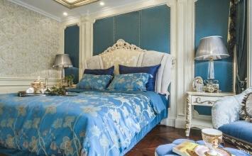 【贵族优雅风 190平欧式四居室】轻盈而华丽,细腻而优雅。
