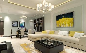 金领世家3室2厅158平米现代风格