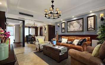 别墅装修设计——中海凤凰和熙