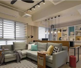 格林玫瑰湾91平两室现代...