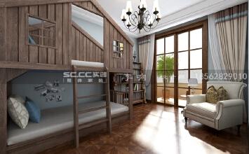 金秋泰和郡6室2厅350平米混搭风格