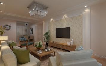 哈尔滨文汇家园小区样板间装修设计效果图