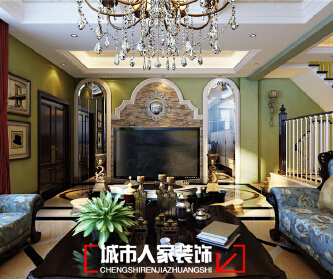 银川别墅装修设计中海...