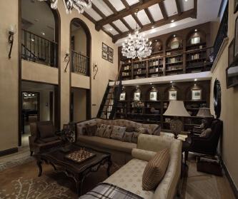 美式风格样板房设计方案