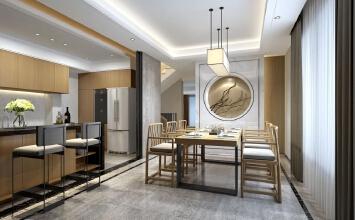 联排别墅新中式设计
