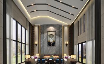 别墅案例:九间堂,新中式风格