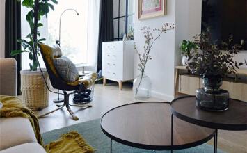 芳群园60平现代简约风格设计方案