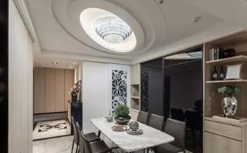 沈阳252平四室现代新古典混搭风装修