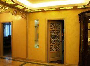 ,传统格调,走廊,