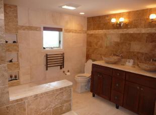 ,当代风格,浴室,